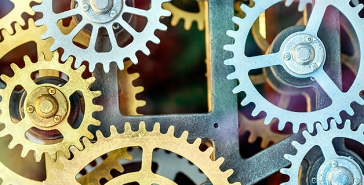 Cogs and mechanism
